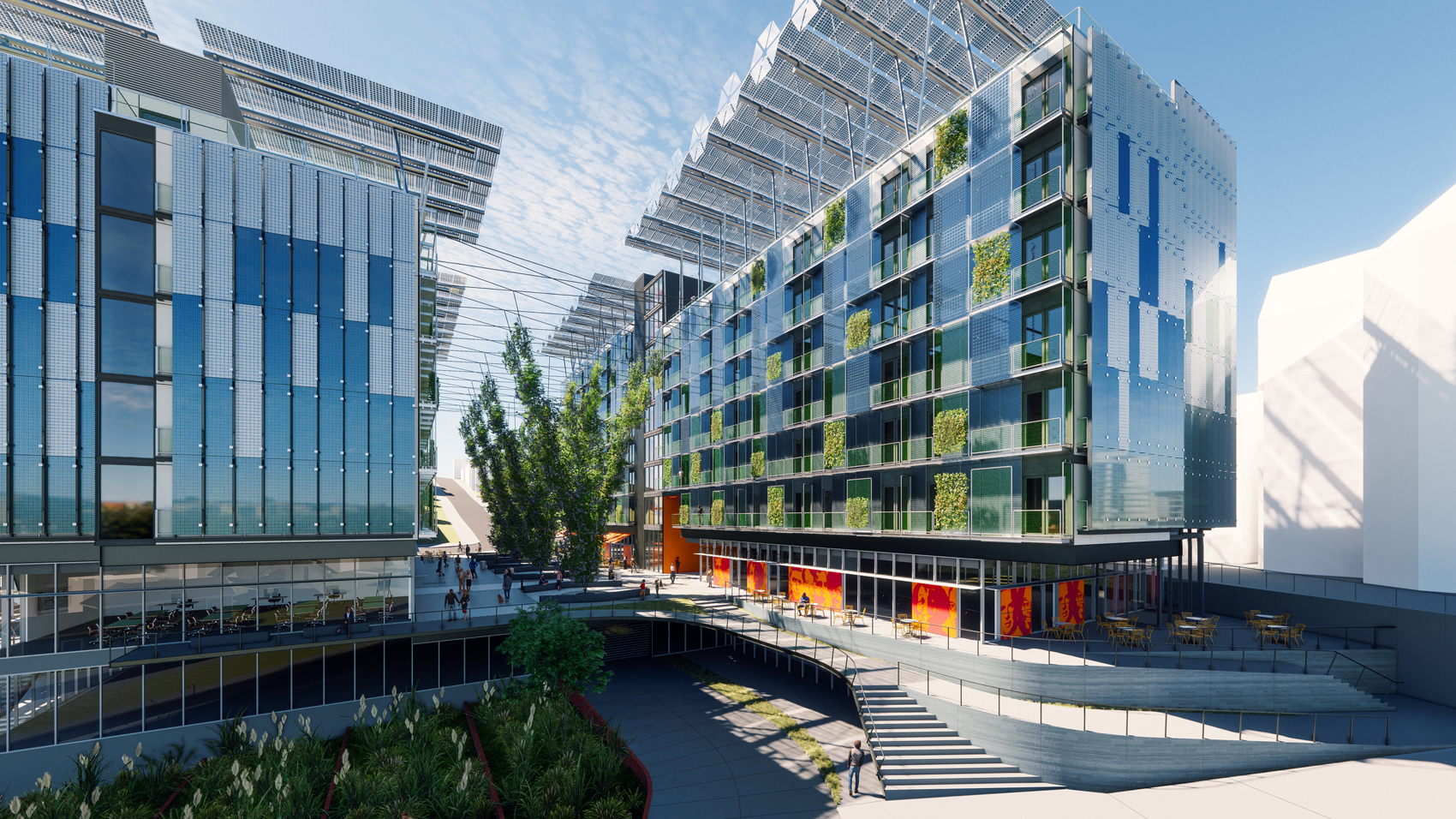 Triple Net-Zero Development Going Up in Albany